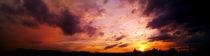 sundown - sonnenuntergang von Franziska Bittermann