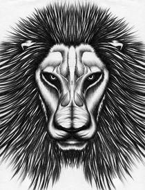 Lion Bust von Joe Kind