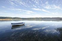 Row Boat on Knysna Lagoon, South Africa von Neil Overy