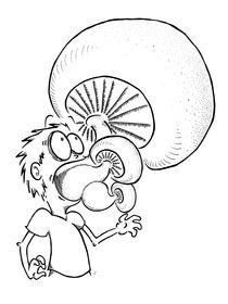 Fear of Mushrooms by Raechel Raines