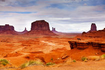 Navajo Land by David Pinzer