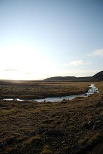Icelandic river by Yvonne Schüttler