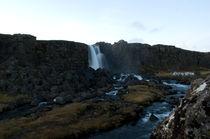 Þingvellir waterfall by Yvonne Schüttler