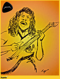 Metallica- Kirk by tamagna ghosh