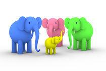 Elefanten-ruesselhoch