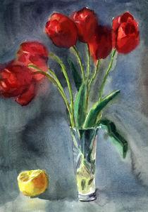 Tulips by Inna Vinchenko