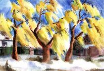 Autumn Trees von Inna Vinchenko