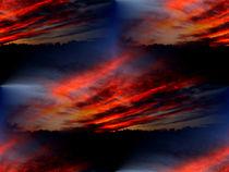 Abendhimmel by Cornelia Greinke