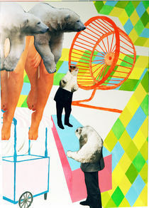 Kirmes-collagen-illustration-joachim-sperl