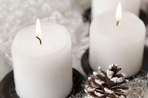 Kerzen-stillleben