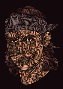 Rafa Nadal by David Pocull