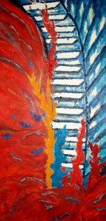 Die Treppe des Lebens - der steile Weg nach oben von Heinrich Reisige