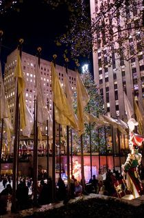 Christmas in Rockefeller Center by Megan Daniels