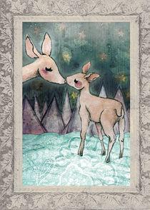Christmas deers von Elisa Moriconi