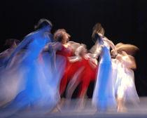 dance blue/white by Sylwia Olszewska