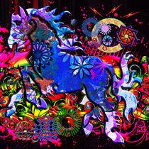 Abstract Dream Design Horse von Blake Robson