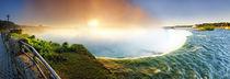 Sunrise-at-niagara-falls