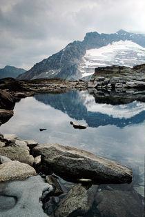Eisiger Bergsee von Thomas Mertens