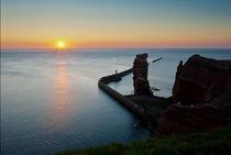 Lange Anna, Helgoland – Sonnenuntergang by Thomas Mertens