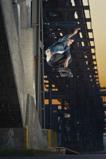 Marcin Wasielewski - Roll to 180 parallel grab von Kuba Urbanczyk