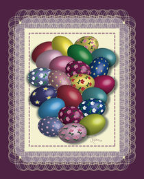 Easter Eggs von Nancy Robinson