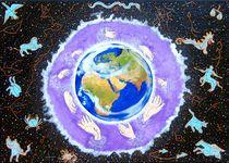 Sternzeichen -  Erde von Künstler Ralf Hasse