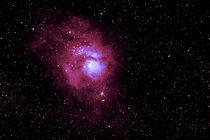 M 8 Lagunen Nebel - Lagoon Nebula  von monarch