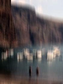 Gomera - Vueltas - Hafen - abstrakt by Jens Berger