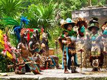 Mayan Dancers von Noe Casas