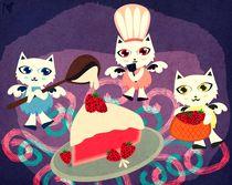 Strawberry Cake von Nimas Arum