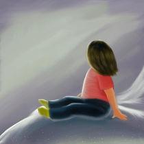 Camila en la nieve von Nut Miñano