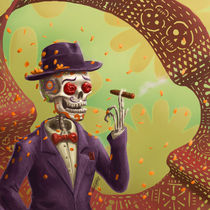 Day of the dead in Mexico by Sergio Rebolledo
