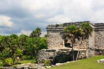 Mayastätte Tulum am Meer in Yucatan, Mexiko von Marita Zacharias