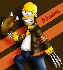 homer wolverin by ambroise catherine
