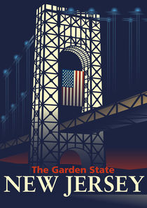 George Washington Bridge von John Tomac