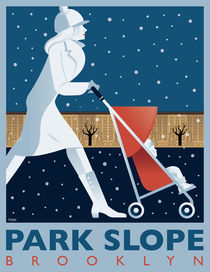 Park Slope von John Tomac