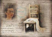 Hommage Frida Kahlo von Christine Lamade