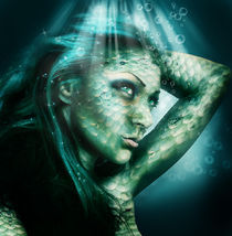 Serene the Siren by triziana