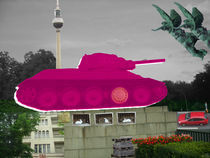 Berlin Collage, Pink Tank by Marko Köppe