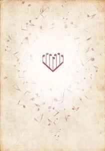 Music Heart warm von Luka Balic
