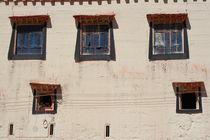 Child in windows (Shangeri-La, YunNan, China) by ShuiZhou He