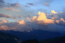 Rosy cloud in the evening (Shangeri-La, YunNan, China) by ShuiZhou He