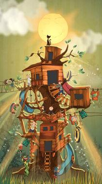 tree house von Robert Filip