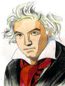 Beethoven by Shelley Valdes