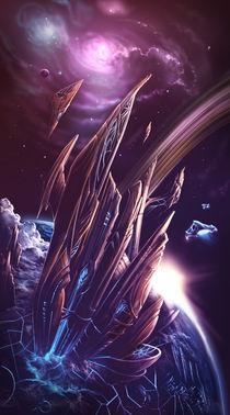 space castle by Daniel Lins