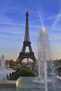 Eiffel Tower from the Trocadero Gardens by Louise Heusinkveld