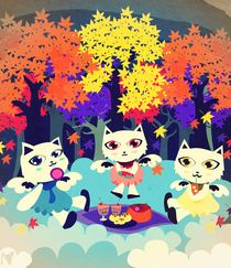 autumn picnic by Nimas Arum
