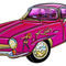 Classic-small-pink-sports-car