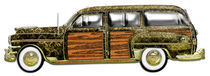 Classic Woody Station wagon by Blake Robson