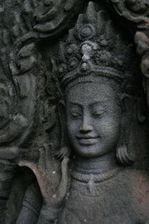 Angkor Bas Relief  von Benjamin Wilkinson